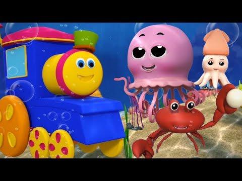 Bob den Zug   wunderbare Welt des Meeres   Kinderreime   Bob The Train   Wonderful World of The Sea