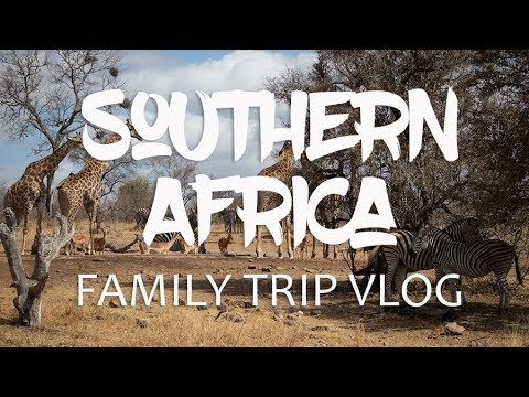 Southern Africa Family Trip vlog 2019: Victoria Falls, South Africa, Cape Town, Kruger National Park