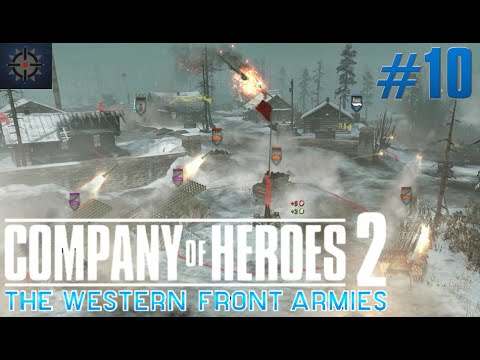 Company of Heroes 2 The Western Front Armies Online Live Commentary #10 - Impossible Comeback