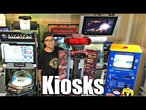 Video Game Kiosks Extreme Game Collecting Youtube