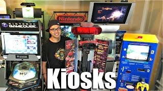 VIDEO GAME KIOSKS - Extreme Game Collecting!