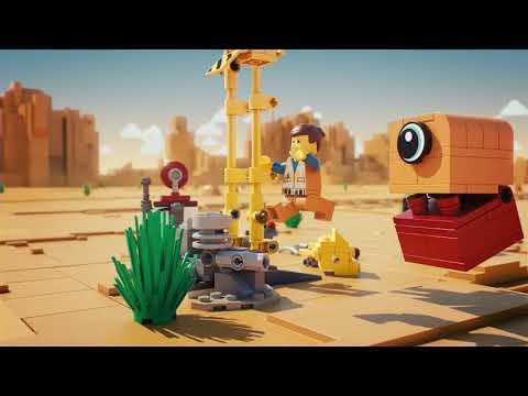 The LEGO Movie 2 70823 - трехколёсный велосипед Эммета!