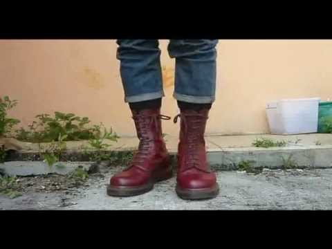 1490 Vintage Oxblood Doc Martens Youtube