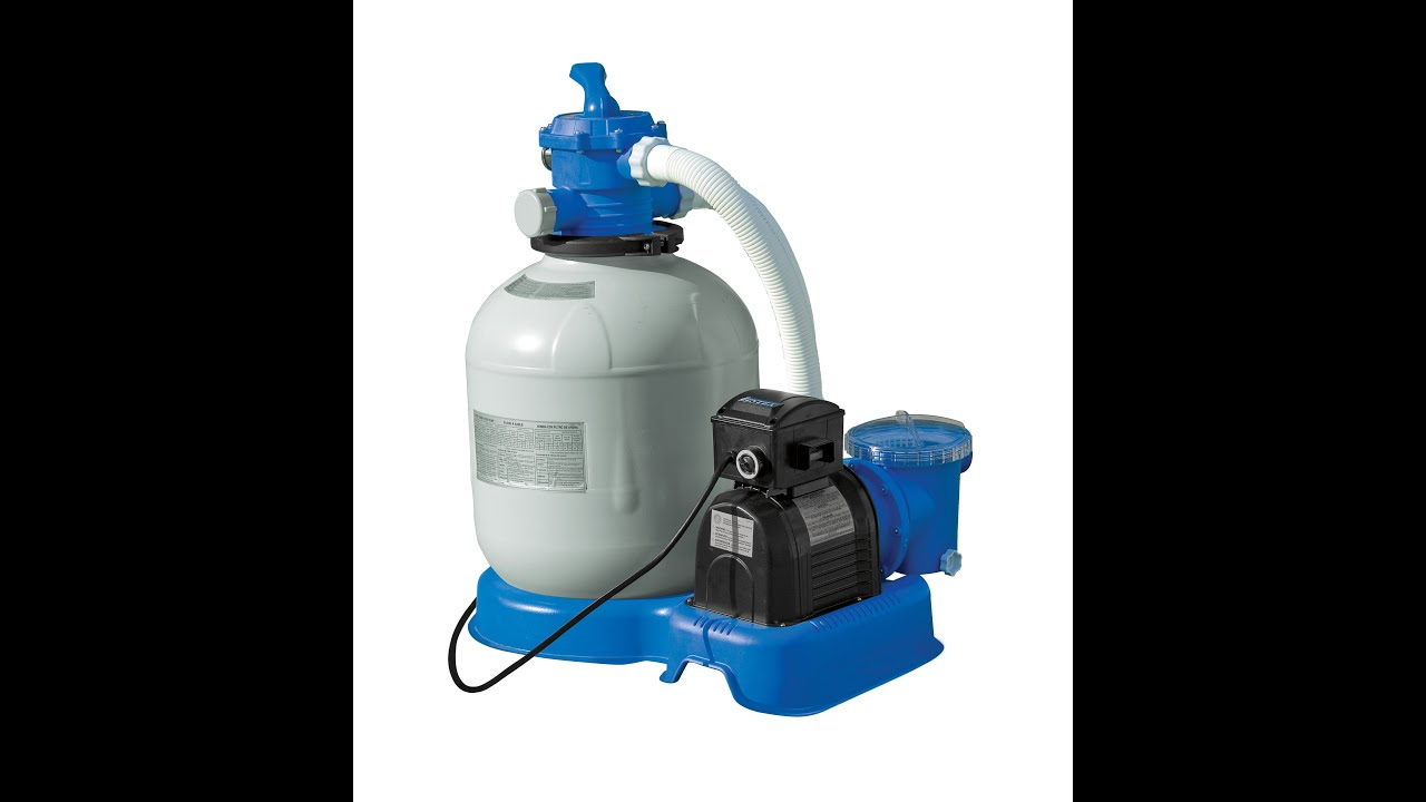 Intex 1200 1600 And 2650 Sand Filter Pump Setup