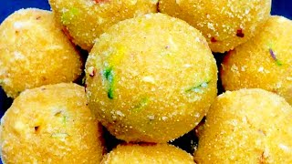 Tasty rava laddu Samaiyal