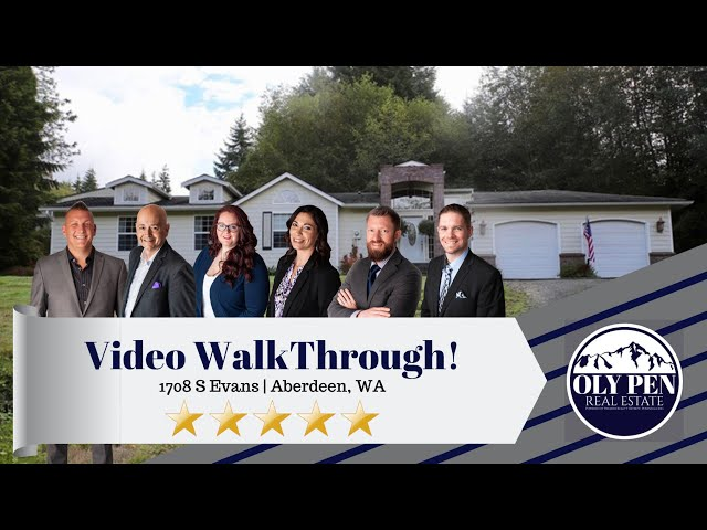 Video Walk-Through | 1708 S Evans | Aberdeen
