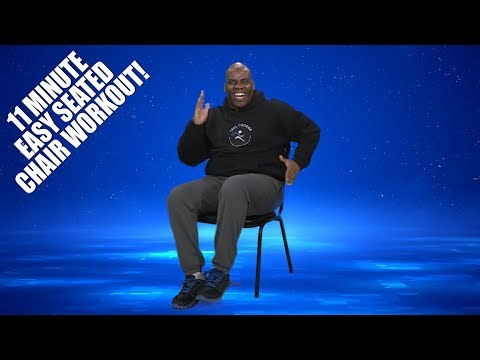 11 Minute Easy Chair Workout 100% Seated! | Sit and Get Fit!