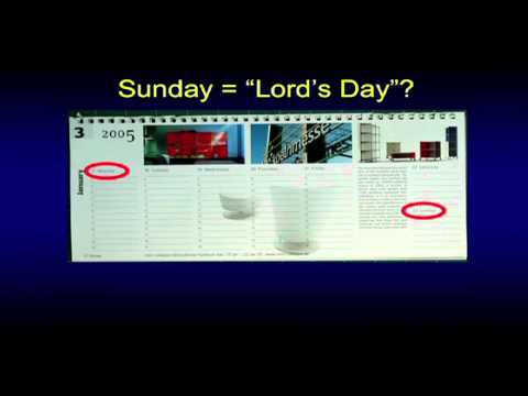 Sabbath vs. Lord's Day?