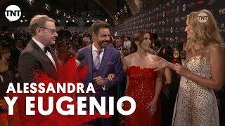Premios Platino 2018 | Alessandra Rosaldo y Eugenio Derbez