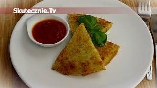 Placek ziemniaczany z boczkiem i sosem pomidorowym :: Skutecznie.Tv [HD]
