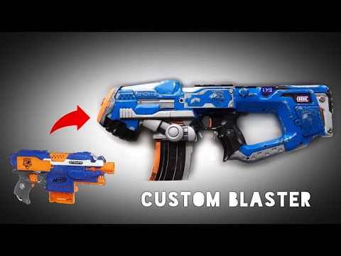 How To Mod And Paint A Nerf Blaster! (Stryfe Integration)