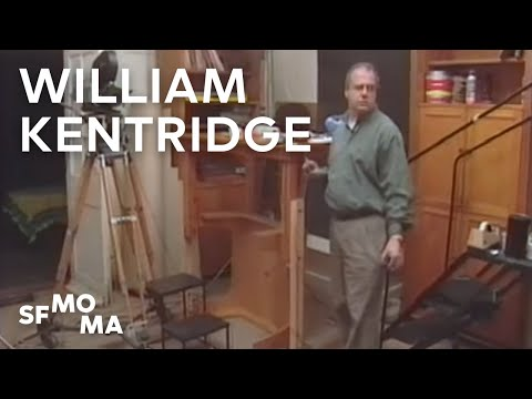 William Kentridge on his Animation Process