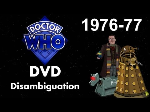 Doctor Who DVD Disambiguation - Season 14 (1976-77)