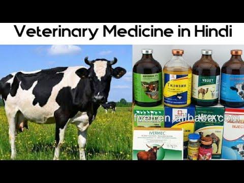 कोनसी दवाई किस बीमारी के काम आती है | Veterinary Medicine in Hindi | पसू रोग दवाएं |