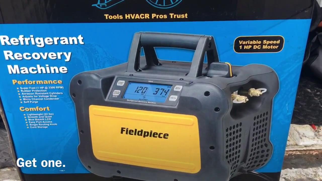 fieldpiece recovery machine