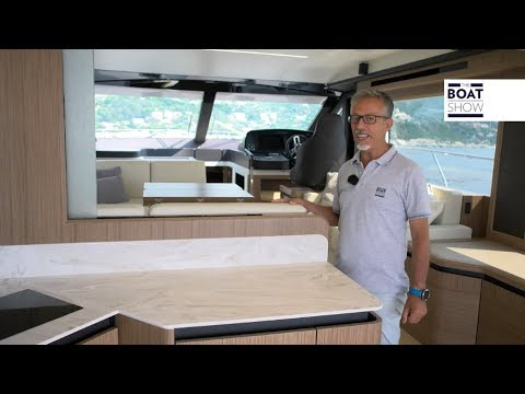 [ENG] ABSOLUTE 52 FLY  - Motor Yacht Review - The Boat Show