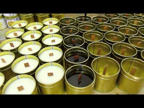 How to Make Soy Candles by Edens Secret - Re-Worked with Extra Scenes