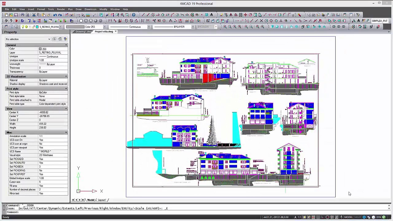 4mcad 19 The Smart Alternative To Autocad Youtube
