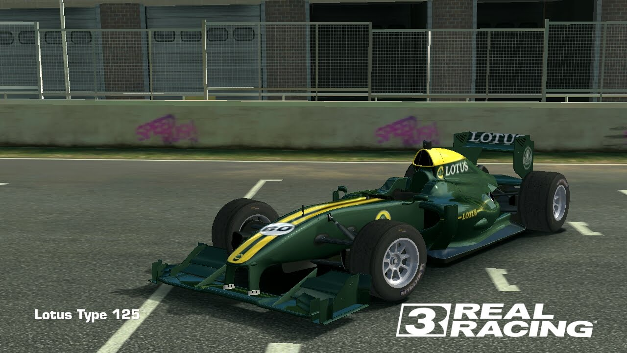 Real Racing 3 4.4.1 first race with Lotus Type 125 - YouTube