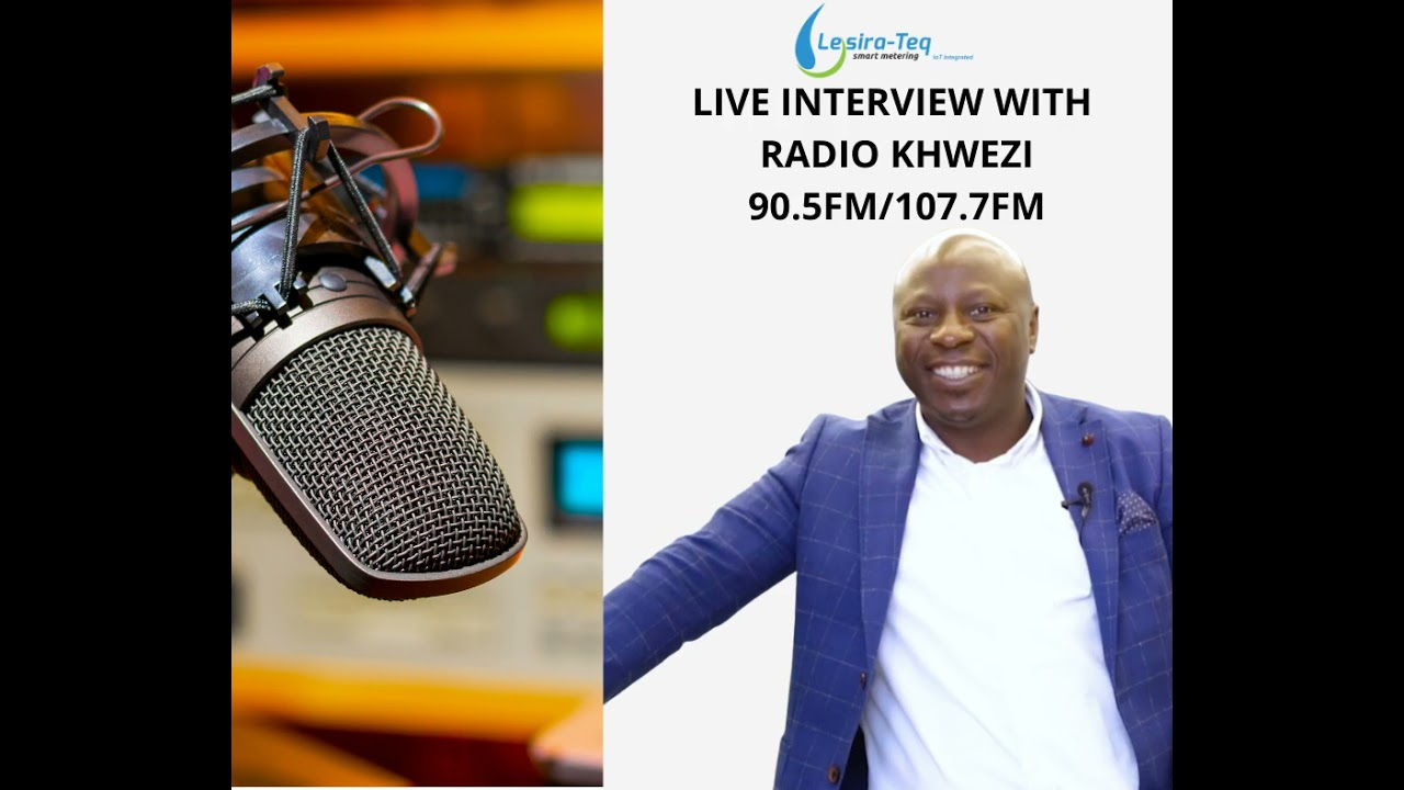 Live Interview with Radio Khwezi