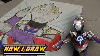 Ultraman Orb Spacium Zeperion - How I Draw