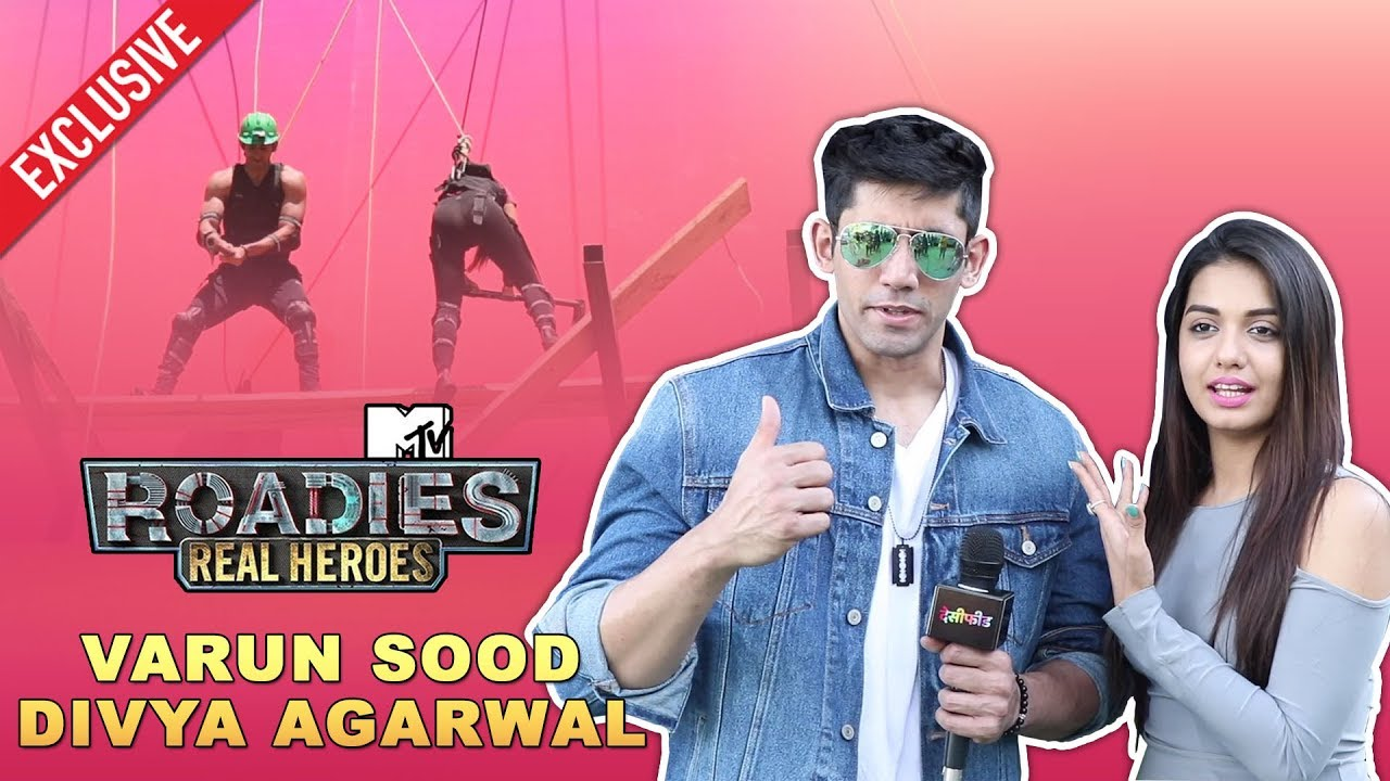 MTV Roadies Real Heroes Contestant Varun Sood & Divya Agarwal Performs  First Valentine Stunt