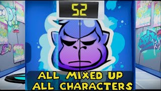 Warioware Get it Together - All Mixed up - All characters: Score 52