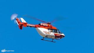 DRF Luftrettung Hubschrauber Landung und Start in Delmenhorst | Tag der Helfer [4K]
