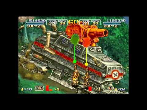 Metal Slug 6 Two-Player Run Level-8 (Ver. A)