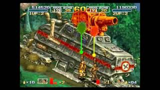 Metal Slug 6 Two-Player Run Level-8 (Ver. A)
