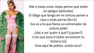 Cardi B - Get Up 10 (Letra en español)