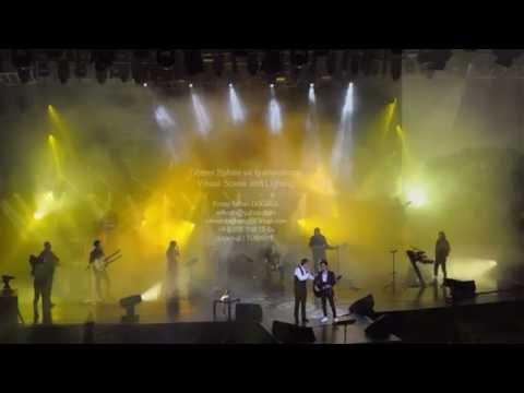 Ferhat Göçer Harbiye 2016 Konseri Işık Tasarımları / Light Design