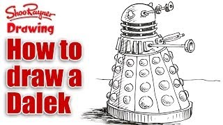 How to Draw a Dalek -  Easy Spoken Tutorial
