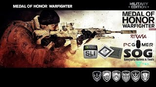 ***980M SLI***MEDAL OF HONOR: WARFIGHTER--MAX SETTINGS--AVERAGE 145 FPS