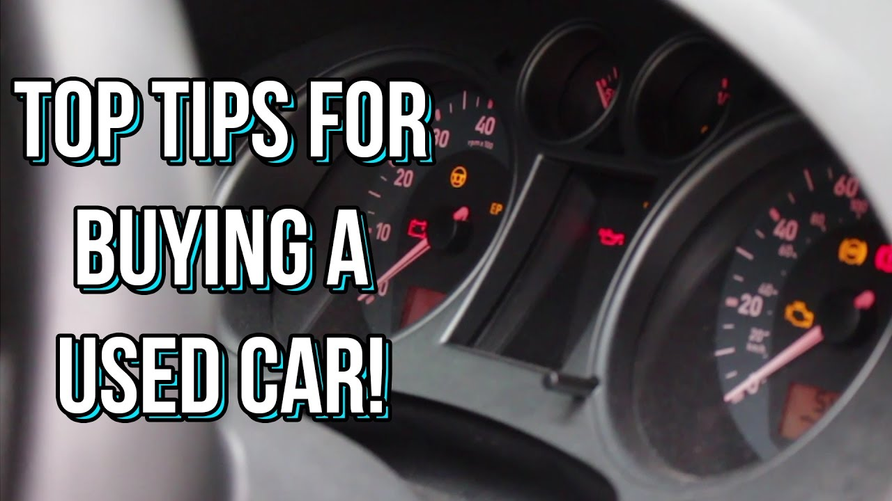 tips for buying a car in