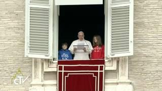 Papež o Jezusovih obljubah in nasilju v Ukrajini