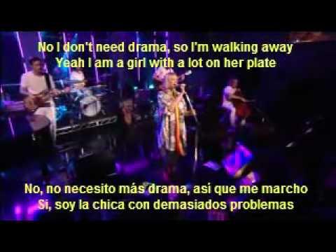 Sia  The Girl You Lost to Cocaine (subtitulado en español)