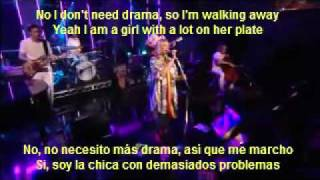 Sia  The Girl You Lost to Cocaine (subtitulado en español)