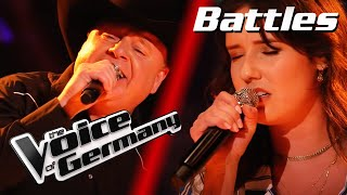 Billie Eilish - Ocean Eyes (Claudia Pahl vs. Douglas Adkins) | The Voice of Germany | Battles