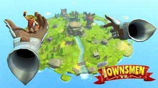 TWORZYMY MIASTO W VR! (Townsmen VR #1)