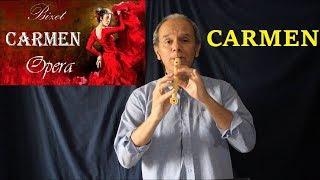 Carmen - Habanera (Note originali) per flautisti avanzati