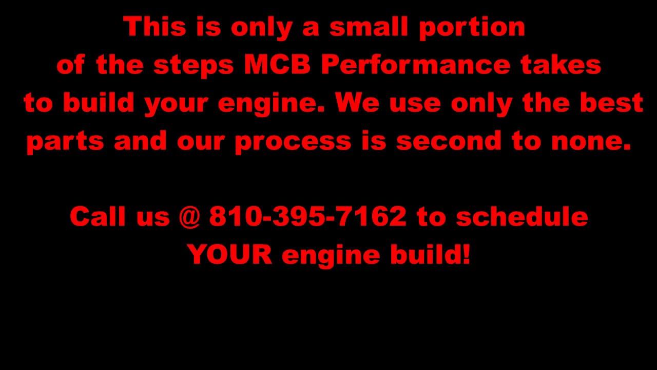 MCB PRO-SERIES LONG-BLOCK ENGINES