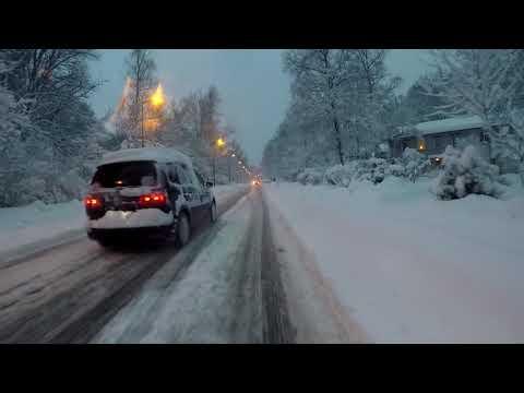 Munich Morning Snow