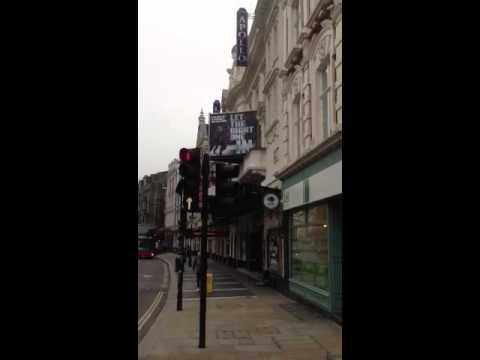 Apollo's Theatre(Shaftesbury Avenue)London.