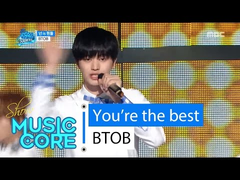 [Special stage] BTOB - You're the best, 비투비 - 넌 is 뭔들 Show Music core 20160416