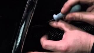 Установка защиты радиатора Mitsubishi Lanser Х new черная