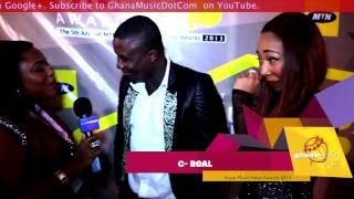 MTN 4Syte TV Music Video Awards 2013 (Yellow Carpet) | GhanaMusic.com Video