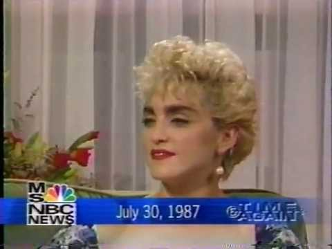 Madonna 1987 Interview-Marriage to Sean Penn