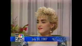 Madonna 1987 Interview-Marriage to Sean Penn