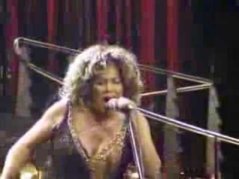 TINA TURNER AND HER FLOWERS
